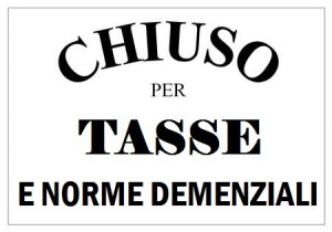 CHIUSO PER TASSE