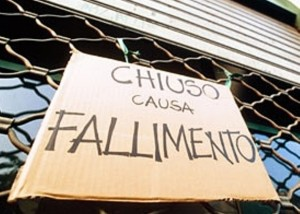 CHIUSO PER FALLIMENTO