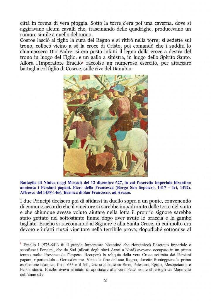 Esaltazione della Santa Croce  Legenda Aurea del Beato Jacopo da Varagine_Pagina_02