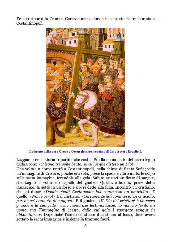 Esaltazione della Santa Croce  Legenda Aurea del Beato Jacopo da Varagine_Pagina_05