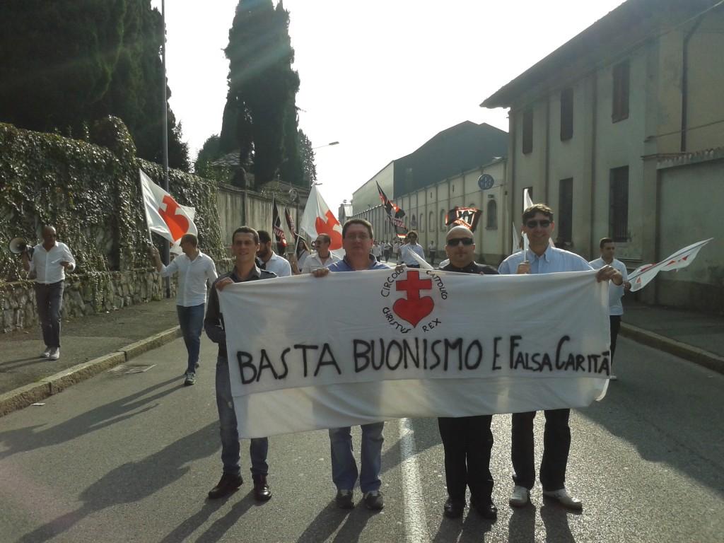 Bergamo CR corteo