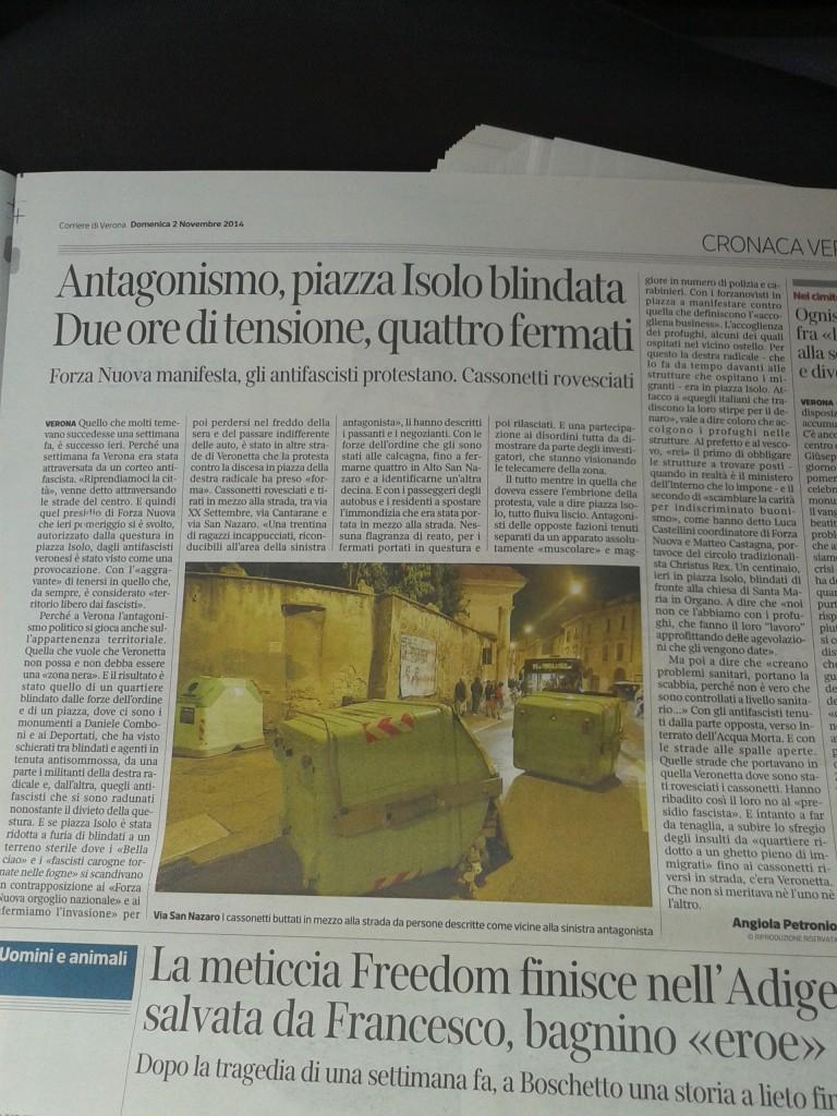 Corriere P.za Isolo