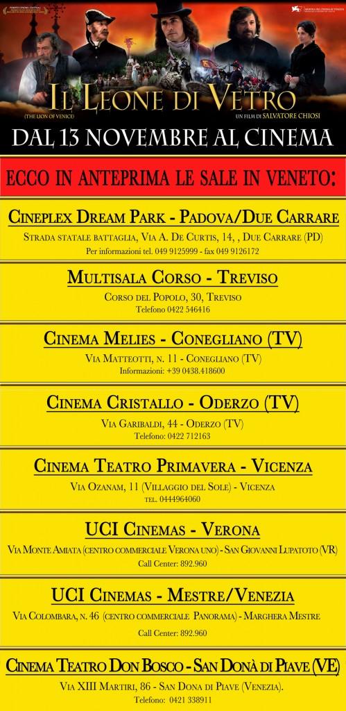 Elenco dei cinema del Veneto