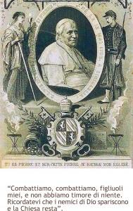 Pio IX, la buona battaglia e la Chiesa che non muore