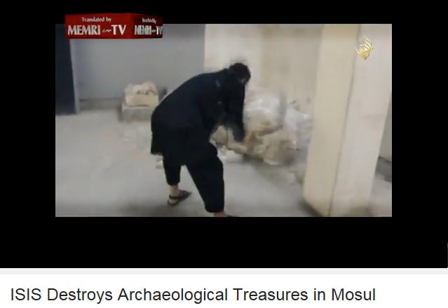 ISIS CONTRO MONUMENTI