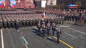 Mosca. Parata militare del 9 maggio 2015 1
