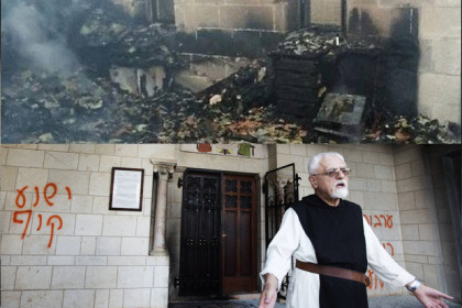 jewish-settlers-burn-destroy-church-on-the-banks-of-the-galilee-sea