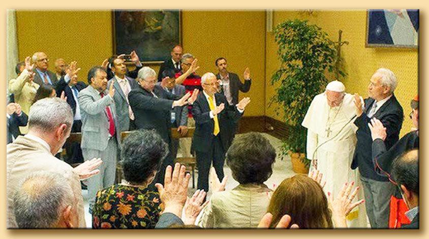 Bergoglion-pentecostale
