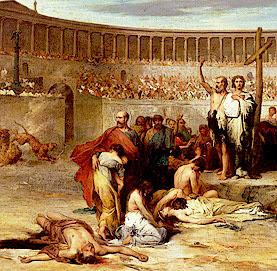 persecuzioni dei cristiani