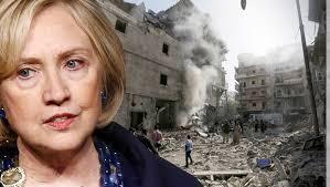 Hillary e Siria