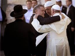 Bergoglio e rabini