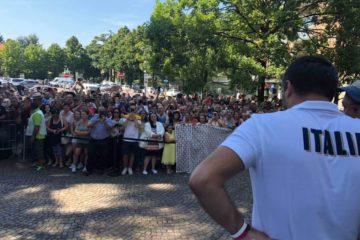 """Salvini a Bibbiano: """"Giù le mani dai bambini, commissione inchiesta su case famiglia"""""""